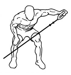 Bent Over Lateral Cable Raises 2