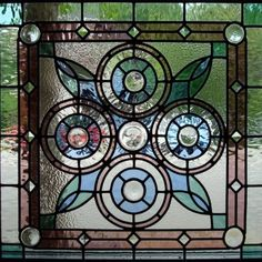 Stained Glass designed by Carved Designs, Memphis, Tn