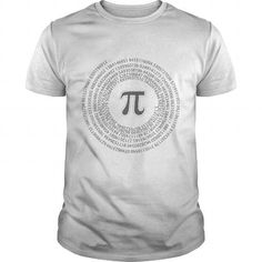 I Love Pi day vortex mathematical constant Shirt; Tee
