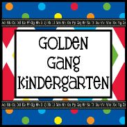 Golden Gang Kindergarten