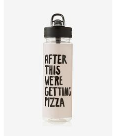 Ban.do After This We're Getting Pizza Water Bottle Women's Pink