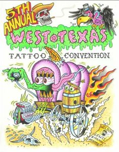 5th Annual West Texas Tattoo Convention 21 - 23 February 2014 See more on: http://worldtattooevents.com/annual-west-texas-tattoo-convention/ — in San Angelo, TX, United States.