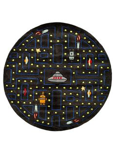 Momeni Rugs Space Games Rug Round