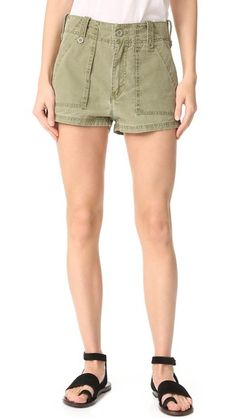Free People High Waisted Military Shorts | SHOPBOP