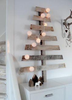reclaimed wooden pallet christmas trees for festive decor