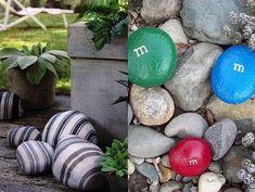 Unique gardens, amazing gardens, beautiful gardens, garden crafts, garden a Pebble Stone, Pebble Art, Stone Art, Unique Gardens, Amazing Gardens, Beautiful Gardens, Garden Crafts, Garden Art, Garden Ideas