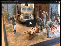 MiniArt buildings kits for dioramas are well famous. In this video we see how to assemble, paint and weathering one of them. Thanks to Luca Oldani channel on YouTube for this great video. Part 1