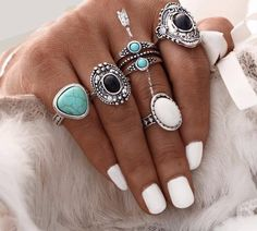 FREE - 5 Pcs Silver or Gold Boho (just pay S/H)