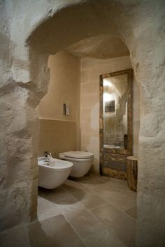 Image 28 of 42 from gallery of Corte San Pietro Hotel / Daniela Amoroso. Photograph by PierMario Ruggeri Stone Interior, Interior And Exterior, Interior Design, Italian Farmhouse, Stone Houses, Ceiling Beams, Modern Rustic, Home Deco, Modern Design