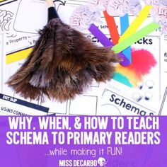 Learn the importance of teaching schema and metacognition to primary readers. Christina shares how, why, and when to teach schema in the classroom. Comprehension Activities, Reading Activities, Educational Activities, Reading Comprehension, New Classroom, Classroom Ideas, Teacher Workshops, Balanced Literacy, Literacy Skills