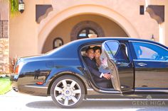 Pretty sweet car to arrive and leave the church in! I love Bentleys!  Wynn Austin Events, vietnamese fusion wedding, Bentley Flying Spur, San Diego Wedding planner, designer, full service,