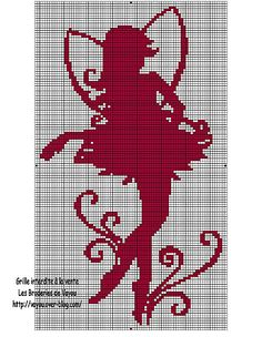 free fairy cross-stitch pattern