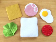 Felt Play Food, Sewing Toys, Felt Crafts, Pineapple, Baby, Handmade, Activity Toys, Meals, Felting