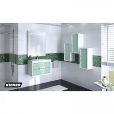 Mueble DECOR 80 cm 2 cajones suspendido, posibilidad de 14 colores a escoger con lavabo resina esmaltado 80 cm y espejo Frame 80 x 80 cm y 3 Modulos DECOR 1 puerta colgar (OPCIONAL), todo con la máxima calidad que ofrece www.kienzo.com. Este y mucho mas en www.kienzo.com siempre incorporando