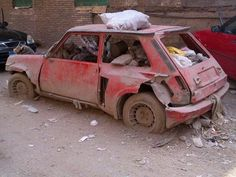 RENAULT 5 TURBO barn find                                                                                                                                                      Más