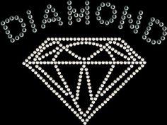 rhinestone diamond shape