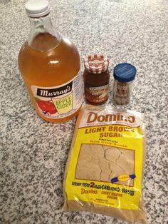 Carmel apple spice recipe (like Starbucks!)
