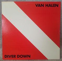 VAN HALEN 1982 Diver