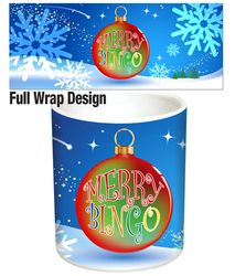 Have & Wish a Very Merry Bingo Christmas to Your Loved Ones this Year with a Stunning New Ornament Themed Mug Design. Christmas Bingo, Christmas Bulbs, Xmas, Mug Designs, First Love, Merry, Holiday Decor, Tableware, Gifts