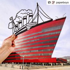 Fantastic! #Repost @paperboyo with @repostapp  Cruising around Los Angeles with my cutouts for the next week or so @DiscoverLA #LostinLA @PacificDesignCenter #Hollywood #PacificDesignCenter #LA #LosAngeles #USInterior #ArtofVisuals #DestinationEarth #NeverStopExploring #PaperArt #Silhouette #Ship #TravelStoke #Travel #OpticalIllusion #PassionPassport@Instagram @LosAngeles_City #LosAngeles_City #ArchitectureLovers #ForcedPerspective #ArchitecturePorn #Cityscape #TravelAwesome