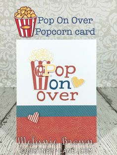 Courtney Lane Designs: Pop On Over card