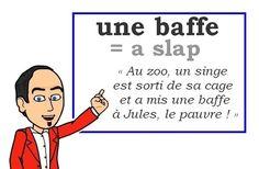 Le mot (familier) du jour : « une baffe » [baf] ✋ Les Machin (@Les_Machin) | Twitter