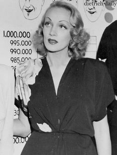 Marlene Dietrich at the Hollywood Canteen in the 40's. Marlene volunteered her services helping out, dancing with smitten soldiers. Marlene went to the front and entertained the allied troops for years also. She was very well loved for that, & after the war was awarded for her service, including receiving France's Legion of Honour medal.  (please follow minkshmink on pinterest)