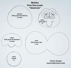 Caren Araujo - Arte EVA: Paso a paso Abelinda