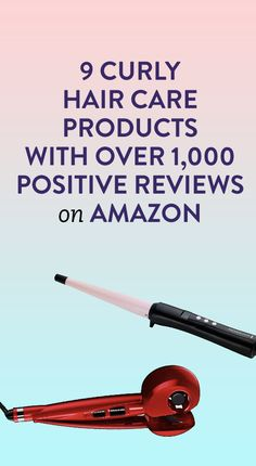 9 Curly Hair Care Products With Over 1,000 Positive Reviews on Amazon