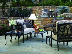 Aqua Resin Wicker Patio Furniture from Summer Classics available at
