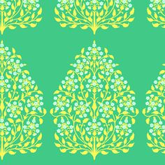 Henna Trees Grass ~ Lark HOME DEC    Sew Mama Sew - Meet Me At The Picnic - #fatquarteridol