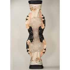 Religious statuette, acrylic, and quartz crystal x x 2017 Vancouver House, Quartz Crystal, Art Gallery, Mary, Sculpture, Crystals, Dresses, Fashion, Vestidos