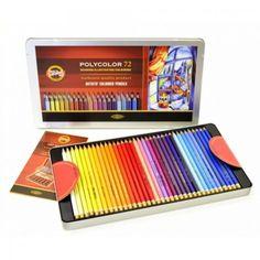 Les crayons beaux-arts Polycolor à prix réduit!