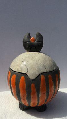 Raku Keramik Dose Holstentor