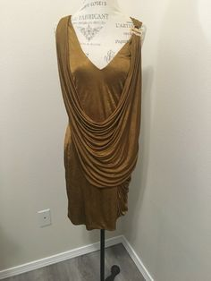 Are you looking for EUC BCBG Max Azria Dress Mustard/Gold Ruched Sleeveless M Medium? We have sorted out the most fashionable & trending dresses of Check out our top picks now. Bcbg Dresses, Bcbgmaxazria Dresses, Max Azria, Purple Dress, Knit Dress, Sheath Dress, Turtleneck, Mustard, Color Black