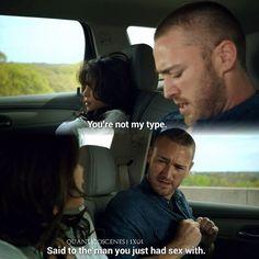 """#Quantico 1x01 """"Run"""" - Ryan and Alex"""