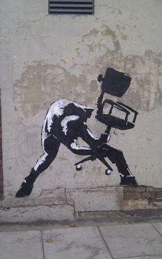 Artist: Banksy Calling London