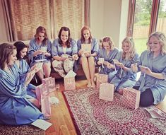 "The Little Lovebird on Instagram: ""Gift your bridesmaids with beautiful Iris 'Gracie' robes to wear for your morning celebrations 💗 The Little Lovebird…"""