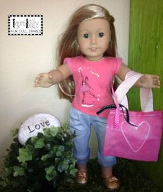 DIY Valentines Day Doll Tote