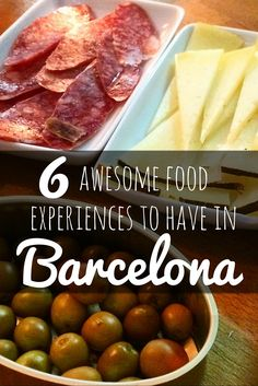 6 delicious food experiences to do in Barcelona, Spain! Learn where to eat in Barcelona for the best Spanish food, like a local!
