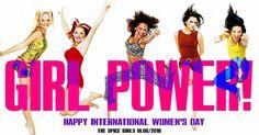 Happy #InternationalWomensDay2016 ! #GirlPower and #TheSpiceGirls #SpiceGirls forever! IMAGE: The Spice Girls Blog on FB. Melanie C, Actress Emma Stone, Emma Bunton, Geri Halliwell, Happy International Women's Day, Spice Girls, Girl Blog, Victoria Beckham, Girl Power