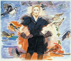 "Larry Rivers ""Fashion Birds"""