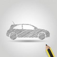 Det finnes ulike måte å finansiere bilkjøpet ditt på. Du kan enten ta et lån med pant i bil eller bolig eller utvide boliglånet ditt. Dette er din guide til billån. Car Symbols, Pencil Drawings, Vector Free, Cool Designs, Nice, Nice France, Pencil Art