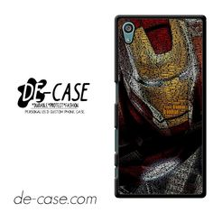 Typography Ironman DEAL-11513 Sony Phonecase Cover For Xperia Z5