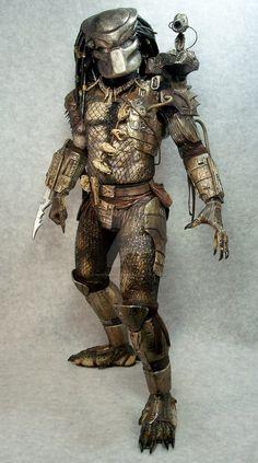 Masked NECA Predator by mangrasshopper on DeviantArt