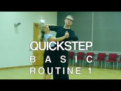 How to Dance Quickstep - Basic Routine 1 Types Of Ballroom Dances, Ballroom Dancing, Ballroom Dress, Learn To Dance, Dance Moves, Routine, The Incredibles, Learning, Music