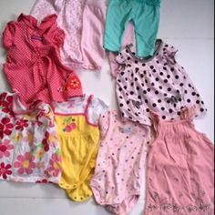 2c07ff88995e Lot of 23 pieces for your baby girl. Size 0 - 3 Months One Piece