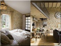 Lakberendezés, rusztikus - Antik bútor, egyedi natúr fa és loft designbútor, kerti fa termékek, akácfa oszlop, akác rönk, deszka, palló Room Divider, Decor, Furniture, Bed, Home, Stone, Home Decor, Room