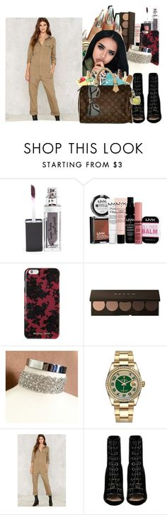 """""""Hearts Ain't Gonna Lie"""" by denise-loveable-bray ❤ liked on Polyvore featuring NYX, Michael Kors, Rolex, Citizens of Humanity and Barbara Bui"""