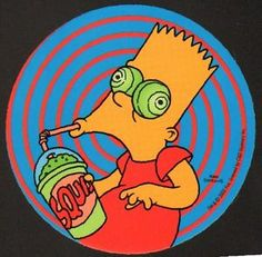 I have this on a shirt! Trippy Wallpaper, Skateboard Art, Vintage Cartoon, Cartoon Pics, Anime, Psychedelic Art, The Simpsons, Art Inspo, Painting & Drawing